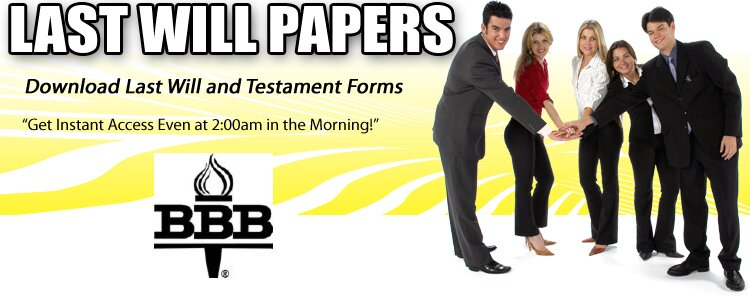 Free Last Will And Testament Download - Print Forms, Advice For