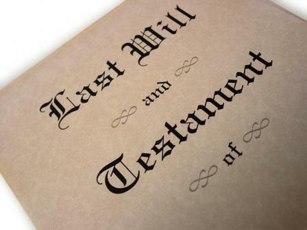 a written will